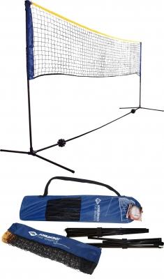 Kombi Netz Set für Badminton oder Volleyball Höhe verstellbar