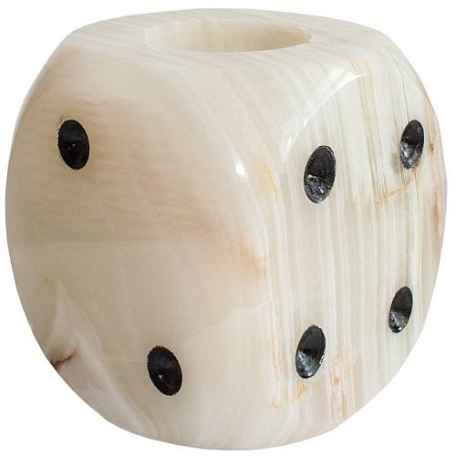 Sammeln & Seltenes 1 Würfel ~~ Onyx Marmor ~~ 1,5 cm