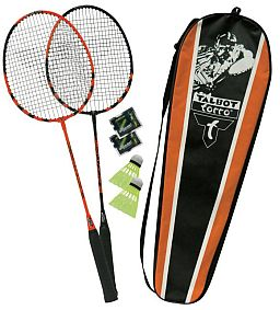 Badminton Zweier-Spielset-Black Magic
